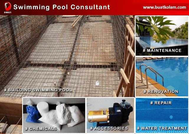 Kontraktor pembuat kolam renang
