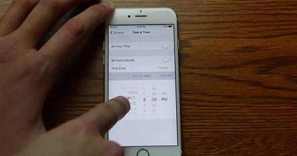 fix iphone date