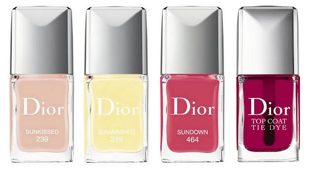 Dior Tie Dye Summer 2015 Nailderella