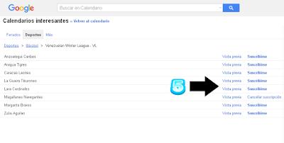 Los ocho equipos de la liga de Venezuela