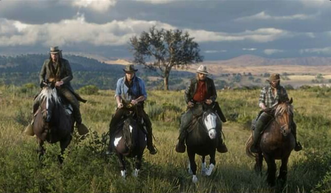Red Dead Online First Screenshot Revealed