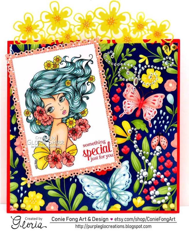 Featured Card at Art Divas Challenge Blog