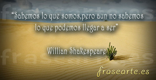 Citas célebres de William Shakespeare