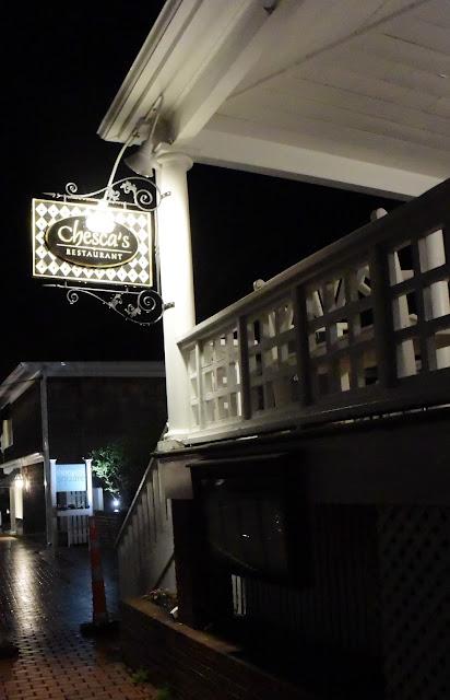 Chesca's Restaurant in Edgartown