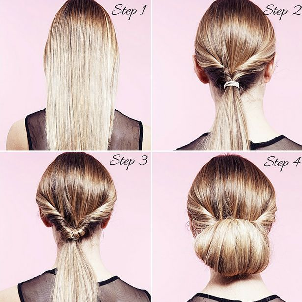 Simple Hairstyles Step By Step For Long Hair Top Model Hairstyle