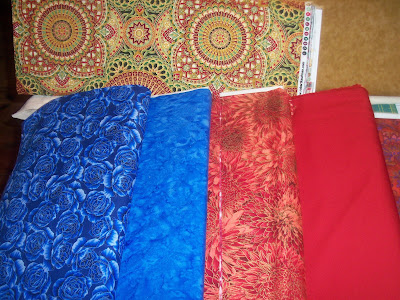 Beautiful Fabrics Arriving at Quilters' Quarters!