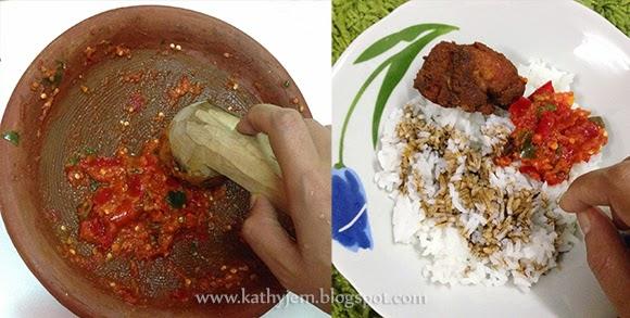 sambal ayam penyet yatie kitchen chiara   writer Resepi Ikan Percik Hanieliza Enak dan Mudah