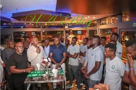 Bukola Saraki Splashes $50,000 On Super Eagles