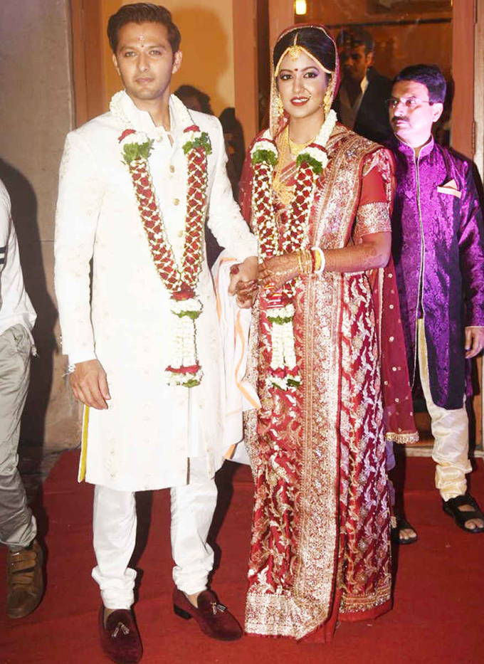 Bollywood Actor Vatsal Seth And Ishita Dutta Marriage Wedding Photos