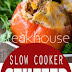 SLOW COOKER STEAKHOUSE STUFFED PEPPERS