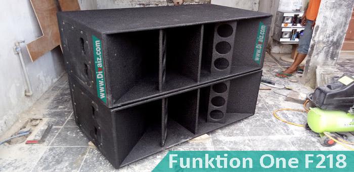 Skema Ukuran dan Cara Buat Box Speaker Funktion One (F1) Bass Lebih Mantap