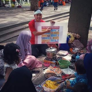 Cecep Husni Mubarok Duta Siberkreasi Netizen fair 2018 Bandung