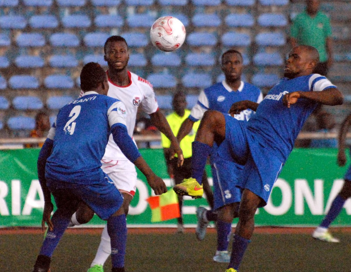George nets brace to sink Rivers United