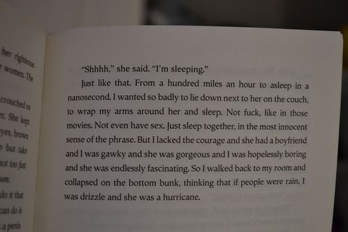 Looking For Alaska Hurricane Quote: (permanence And Security