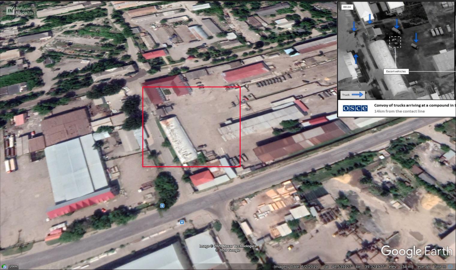 Колона російської техніки приховано перетнула кордон України (фото з БПЛА)