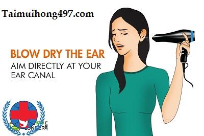 Cách trị ù tai khi bị nước vào hiệu quả