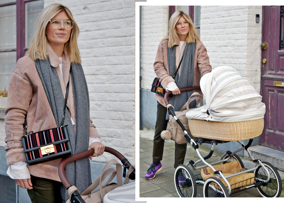 Outfit of the day, Zara, Asos, Dewolf, Gerard Darel, Golden Goose, Dior, Salvatore ferragamo, angelcab, Hulchi Belluni, ootd, style, fashion, blogger, carry cot, mommy, baby