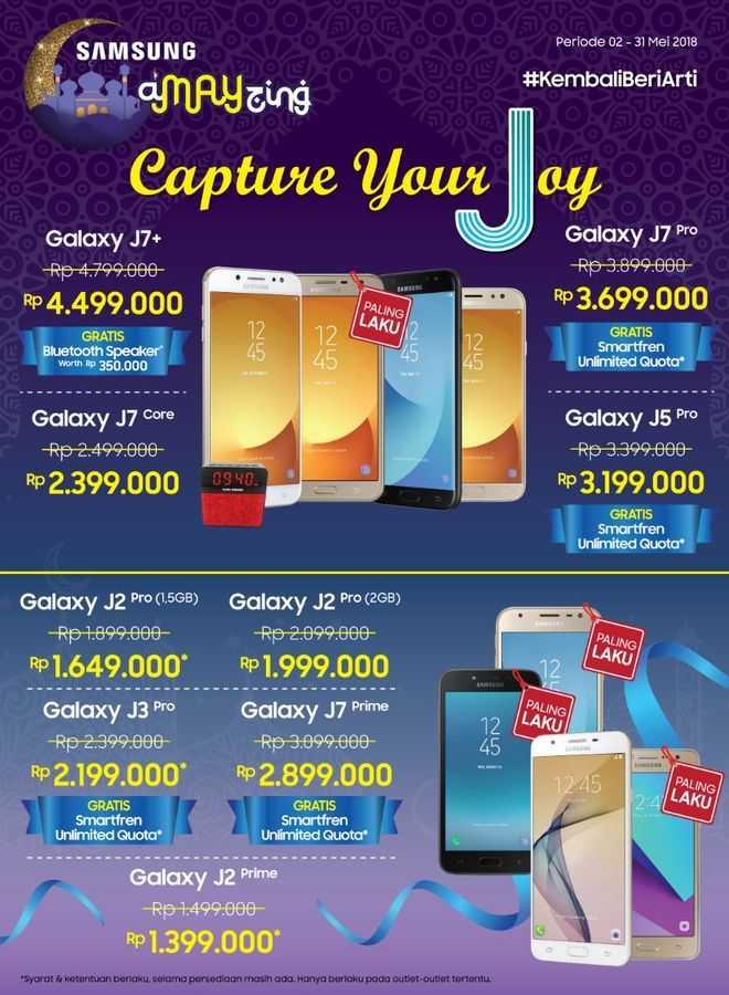 Samsung Galaxy Amayzing 2018 Promo Ramadan KembaliBeriArti