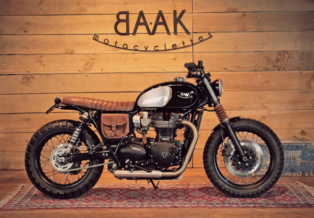 BAAK Motorcyclettes T100 Tracker