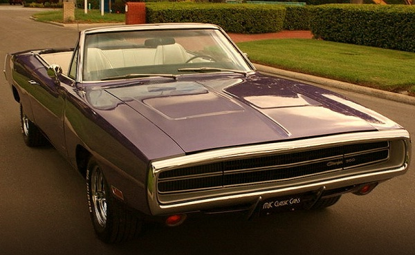 1970 Dodge Charger 500 Sports Convertible