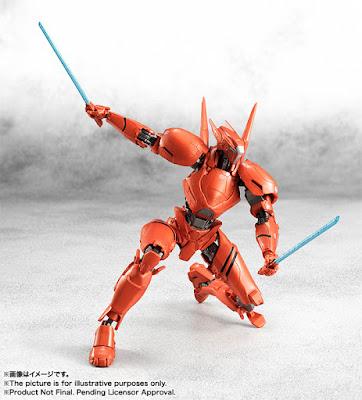 Robot Spirits <Side Jaeger> Obsidian Fury, Guardian Bravo y Saber Athena