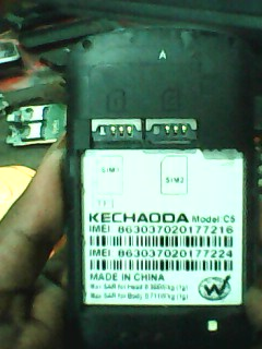Kechaoda%2BC5 Kechaoda C5 Flash File 6531 one hundred% Tasted Root