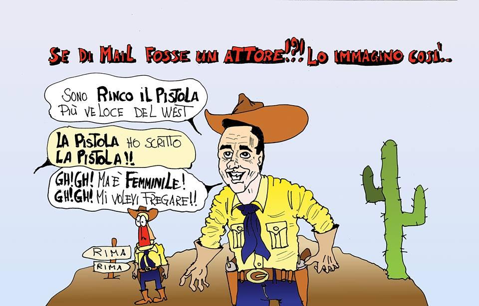 Molto Livorno Times Blog: LE VIGNETTE DI RIMA: PER UN PUGNO DI MAIL YF84