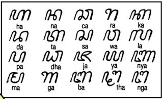 huruf kuno suku jawa