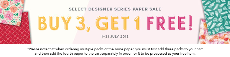 Select Designer Series Paper Sale - Buy 3, get 1 Free