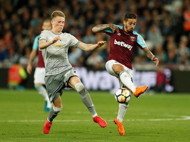 Liga Inggris: Diimbangi West Ham, MU Pastikan Finis Runner-up