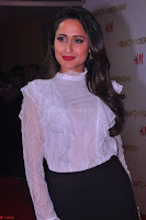 Pragya Jaiswal in lovely Black Mini Skirt and White Transparent Shirt ~  Exclusive 017.JPG