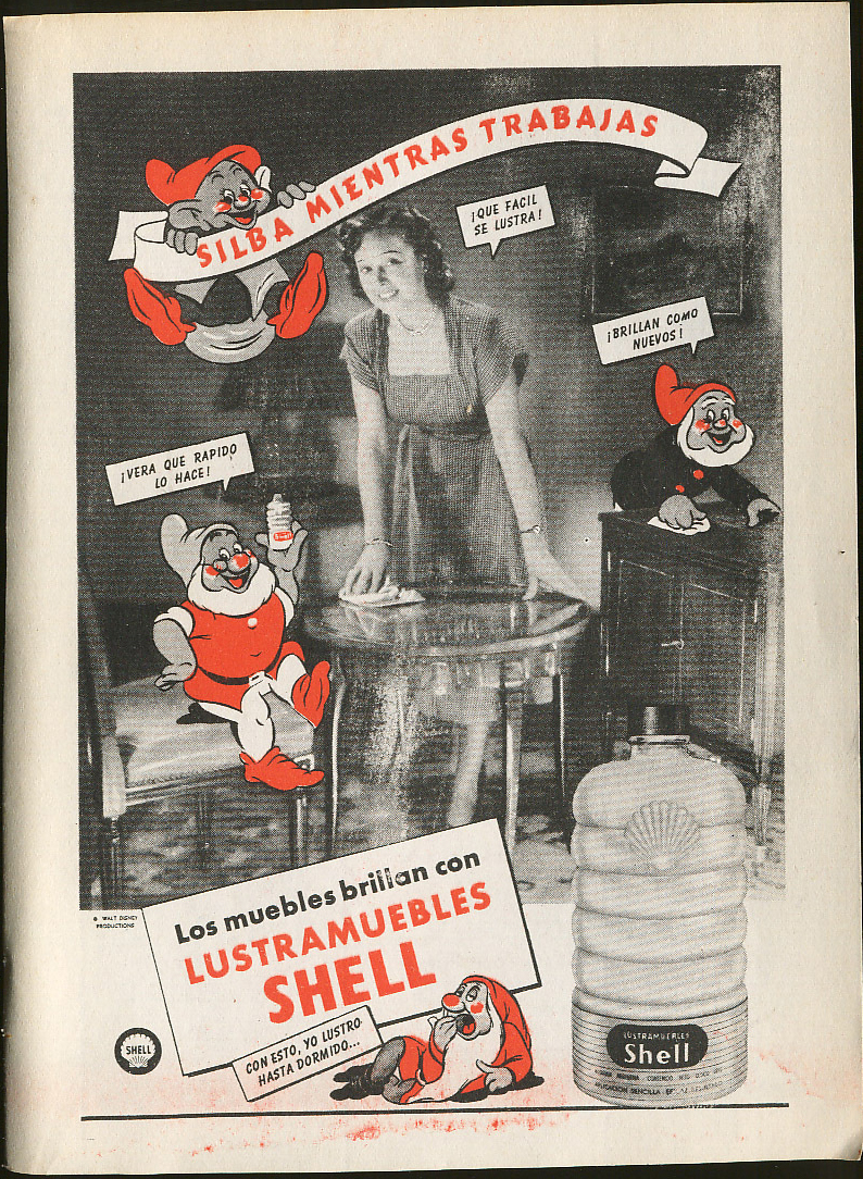 Filmic Light Snow White Archive Shell Oil Magazine Ads From  # Muebles Fiction
