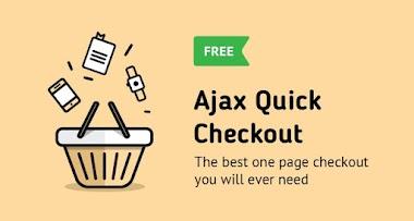 Đơn giản thanh toán với AJAX Quick Checkout miễn phí cho Opencart