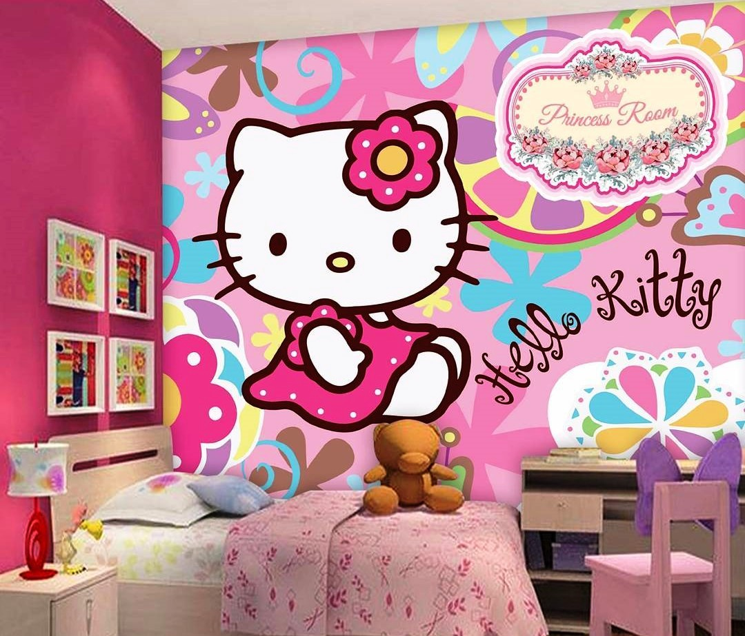 94+ Gambar Grafiti Kamar Hello Kitty Paling Hist