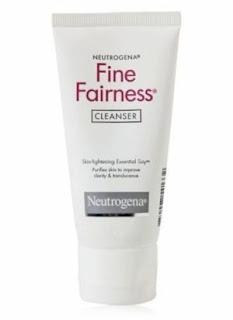 Neutrogena Fine Fairness Cleanser