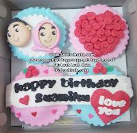 Cupcake Pink Anniversary and Monthversary