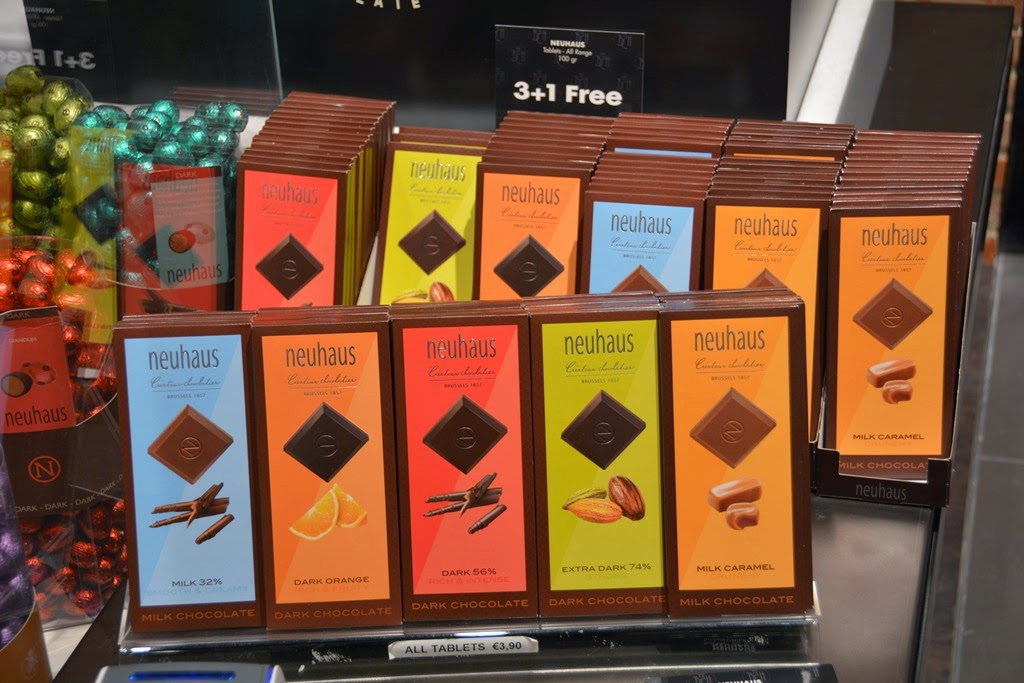 The Belgian Chocolate House Neuhaus bars
