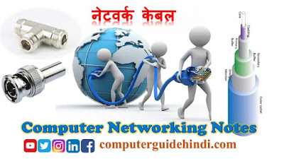 नेटवर्क केबल- Type of Network Cable in hindi