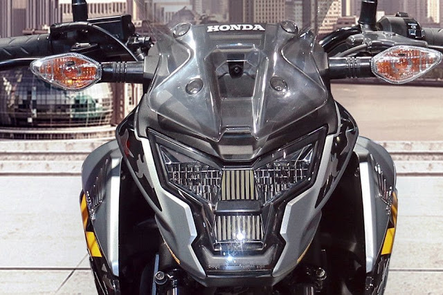 New 2018 Honda XBlade 160 front Headlight image