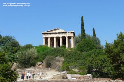 Hefajstejon, świątynia Hefajstosa w Atenach
