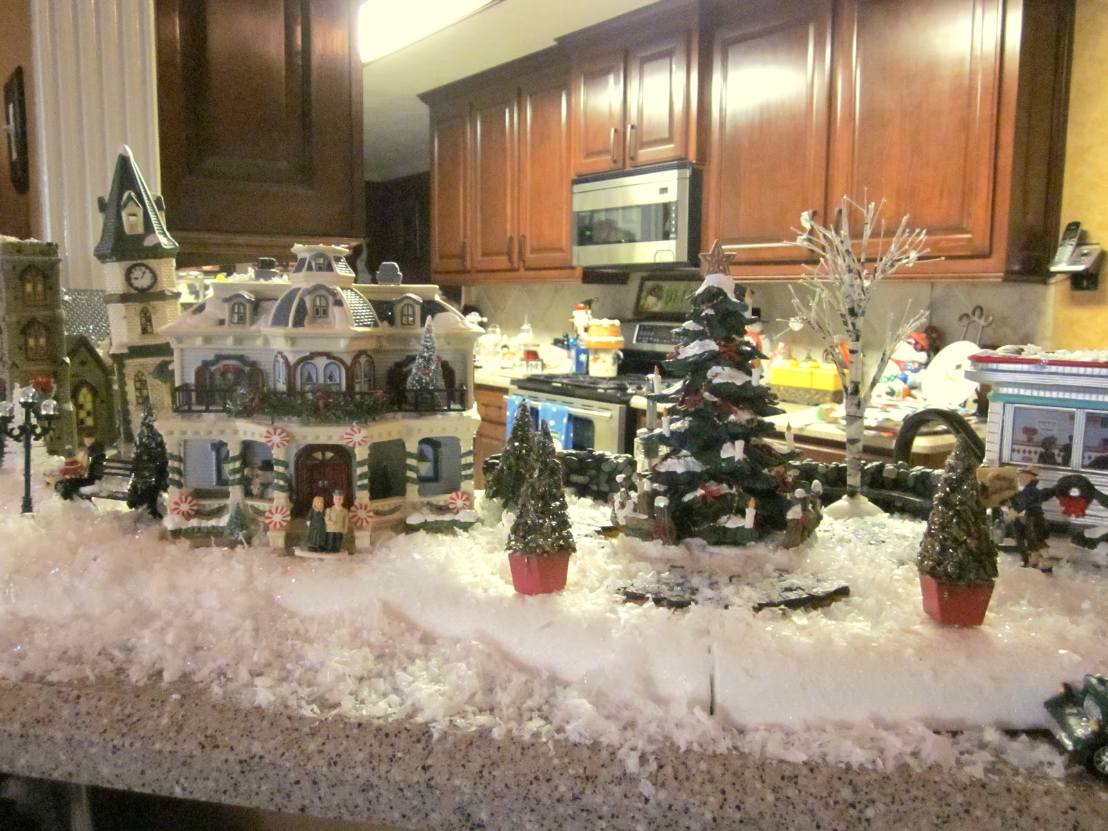 St Nicholas Christmas Village.Life By The Pool It S Just Better Ms D S Christmas Village