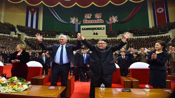 Dirigentes de Cuba y Corea del Norte acuerdan estrechar cooperación bilateral