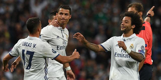 Real Madrid Tundukkan Sporting CP