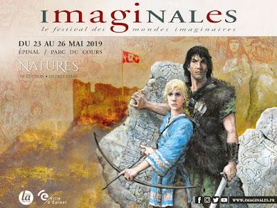 L'affiche des Imaginales 2019