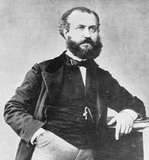 Charles Gounod in 1859, the year of the premiere of Faust.