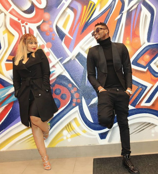 "Diamond Platnumz sends a clear message to his ""side chick"""