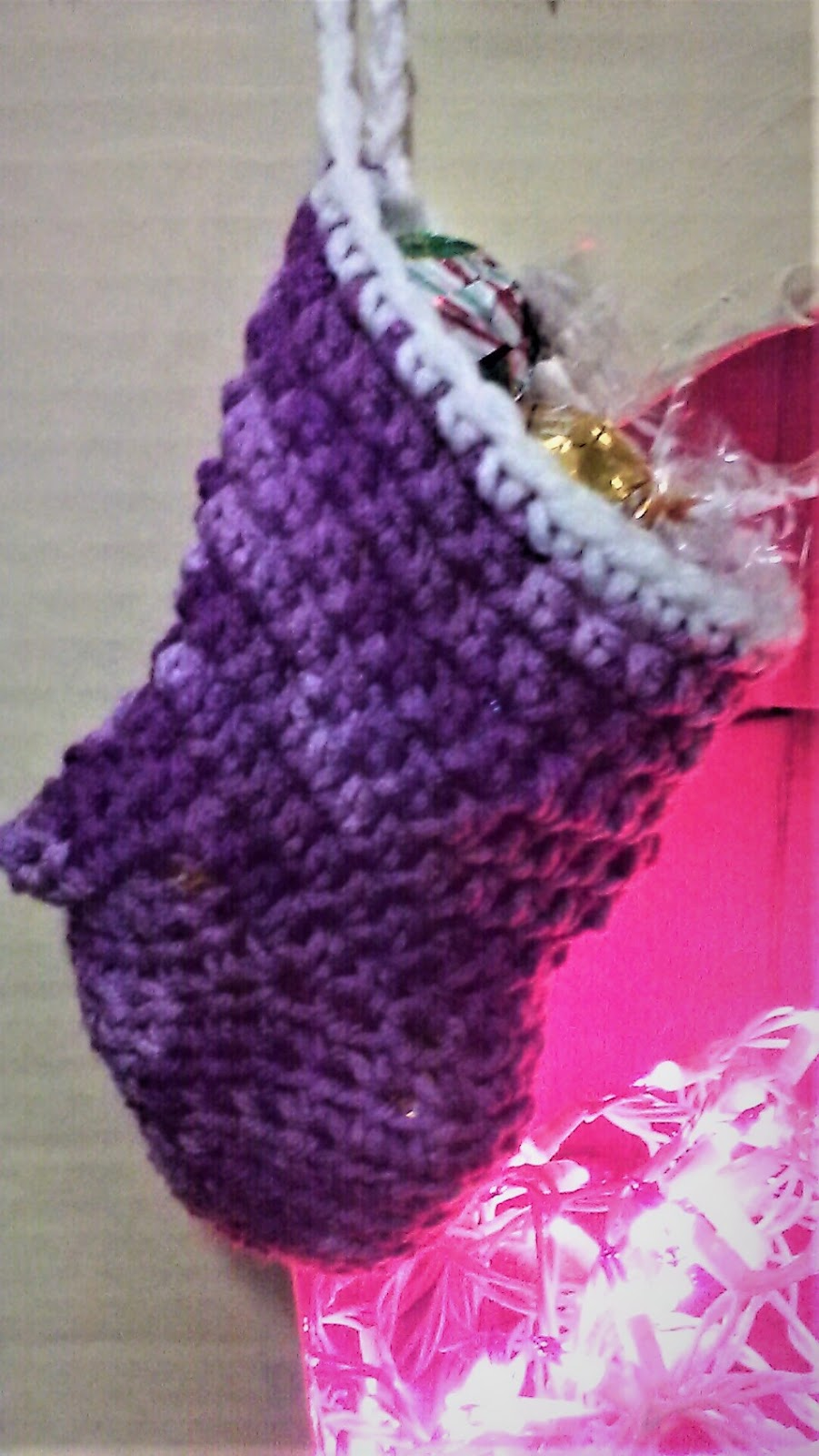 Handcrafted By Kari Diy Crochet Mini Stocking Pattern