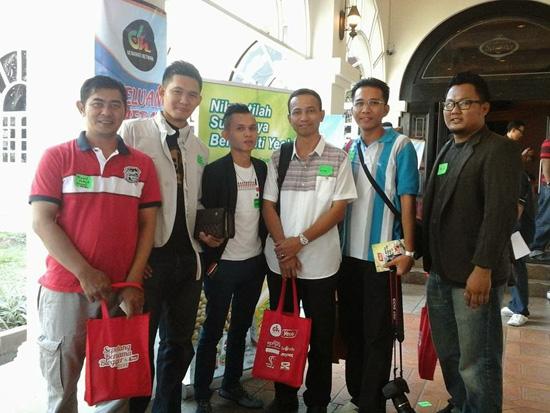 Gambar Blogger Malaysia di Sepetang Bersama Blogger 2014