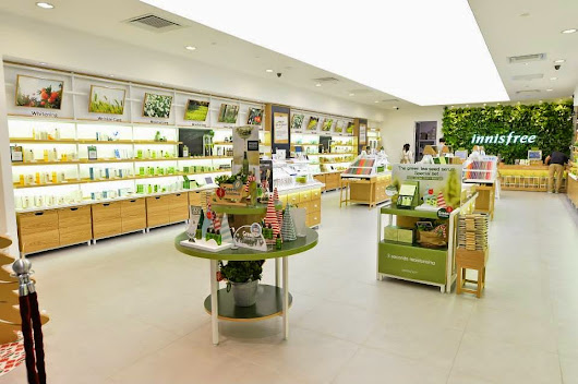 New Korean Brand In Town! Welcome to Innisfree!!!