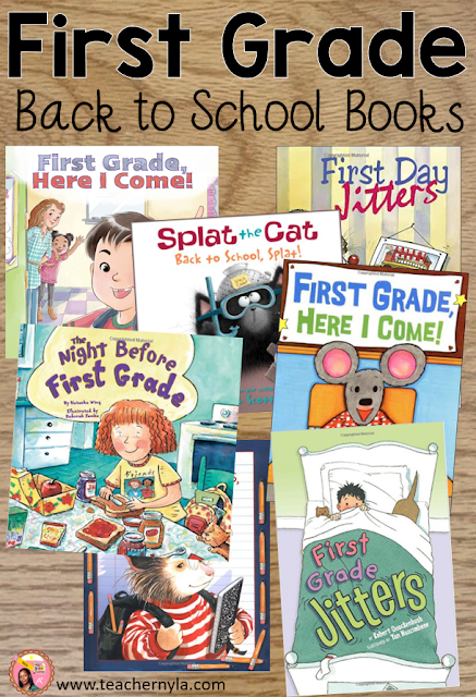 back to school picture books First Grade
